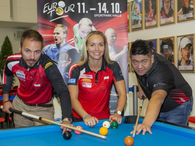 Playing billiards for a good cause - an introduction to billiards by a world champion